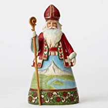Jim Shore for Enesco JS HWC Fig Swiss Santa Figurine