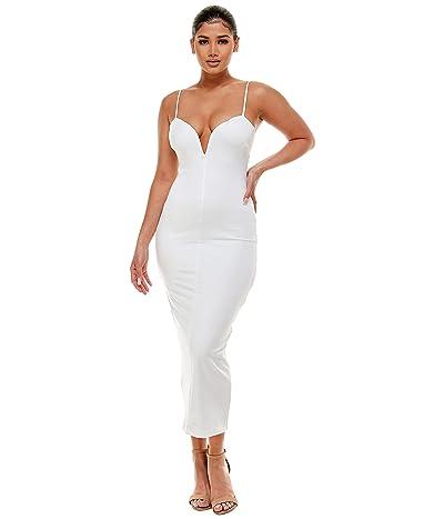 Bebe Jersey Midi Dress