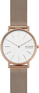 Skagen Signatur Women's White Dial Stainless Steel Analog Watch - SKW2784