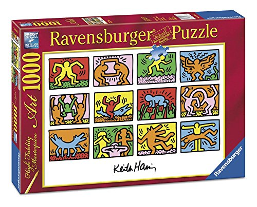 Ravensburger Puzzle 1000 Teile - Retrospect, Keith Haring (Code 15615)