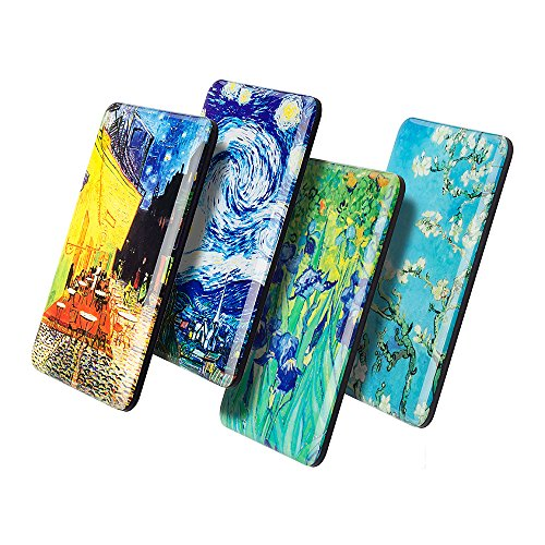Magnets for Fridge Refrigerator Van Gogh Artwork Decorative Magnet for Kitchen Whiteboard Lockers Cute Gifts for Adults Friends Art Lovers(van gogh A)