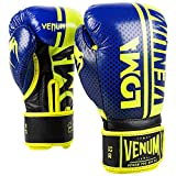 Venum Shield Pro Boxing Gloves Loma Edition - Velcro - Blue/Yellow - 16 Oz