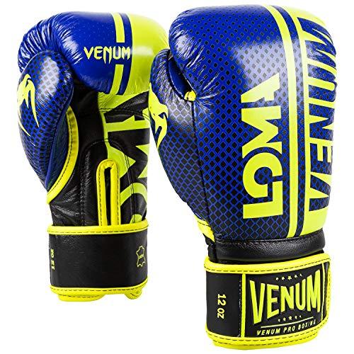 Venum Shield Pro Boxing Gloves Loma Edition - Velcro - Blue/Yellow - 12 Oz