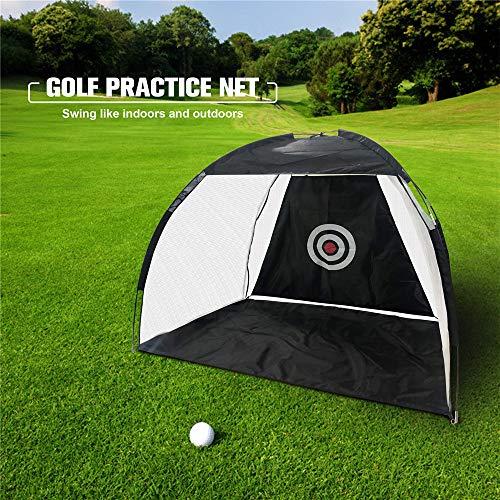 S SMAUTOP Rete per Allenamento da Golf 2M Rete per Colpire da Golf Staccabile Portatile in Tessuto Oxford con Obiettivo di Mirae Borsa per Il Trasporto Attrezzatura da Pratica di Golf