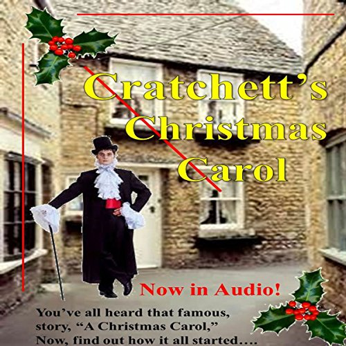 Cratchett's Christmas Carol audiobook cover art