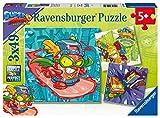 Ravensburger Super Zings para niños 5+ años, 49 Piezas, Puzzle 3x49 (05084)