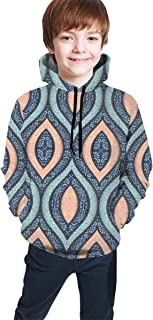 Ethnic Pattern Kids/Teen Girls' Boys' Hoodies,3D Print Pullover Sweatshirts
