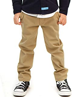 elastic waist school trousers