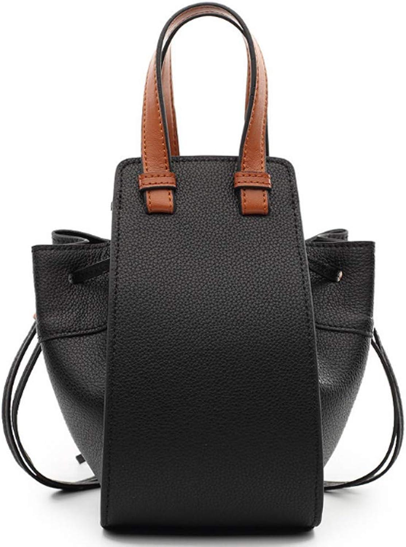 NingZe new fashion trend wild mini shoulder slung bucket female bag