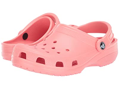 Crocs Kids Classic Clog (Toddler/Little Kid/Big Kid) (Melon) Kids Shoes