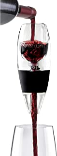 Vinturi V1010 Red Wine Aerator Includes Base Enhanced Flavors with Smoother Finish, Black