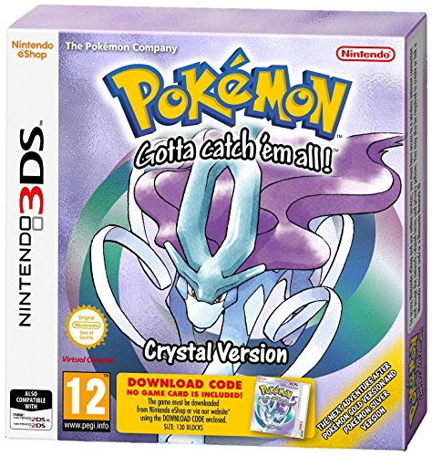 3DS Pokemon Crystal Packaged Download Code (Nintendo 3DS) [UK IMPORT]