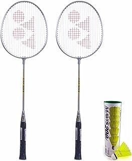 Yonex GR303 Badminton Kit Set, Grey