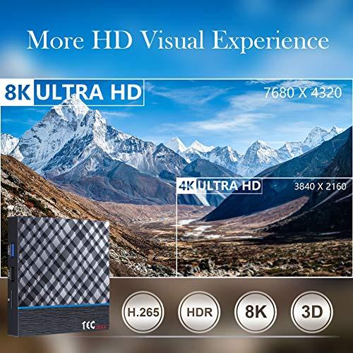 Android TV Box 9.0 4 GB RAM 32 GB ROM, TEC MAX+ Android TV Box ...