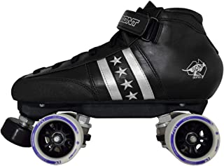 Bont Skates | Quadstar Roller Derby Skate Package | Indoor Quad Speed | Genuine Australian Leather | Youth - Adult