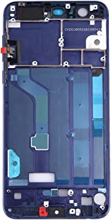 YuanGH YuanGH For Huawei Honor 8 Front Housing LCD Frame Bezel Plate(Blue) Repair Parts (Color : Blue)