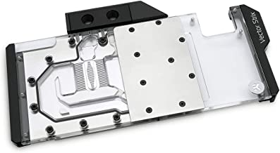 EKWB Water Blocks EK-Vector Strix RTX 2080 RGB GPU Waterblock, Nickel/Plexi