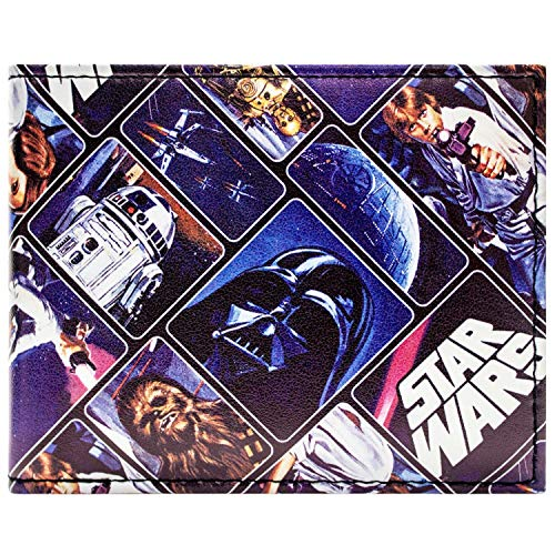 Star Wars Original Trilogy Bleu Portefeuille
