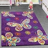 alfombra morada habitacion infantil