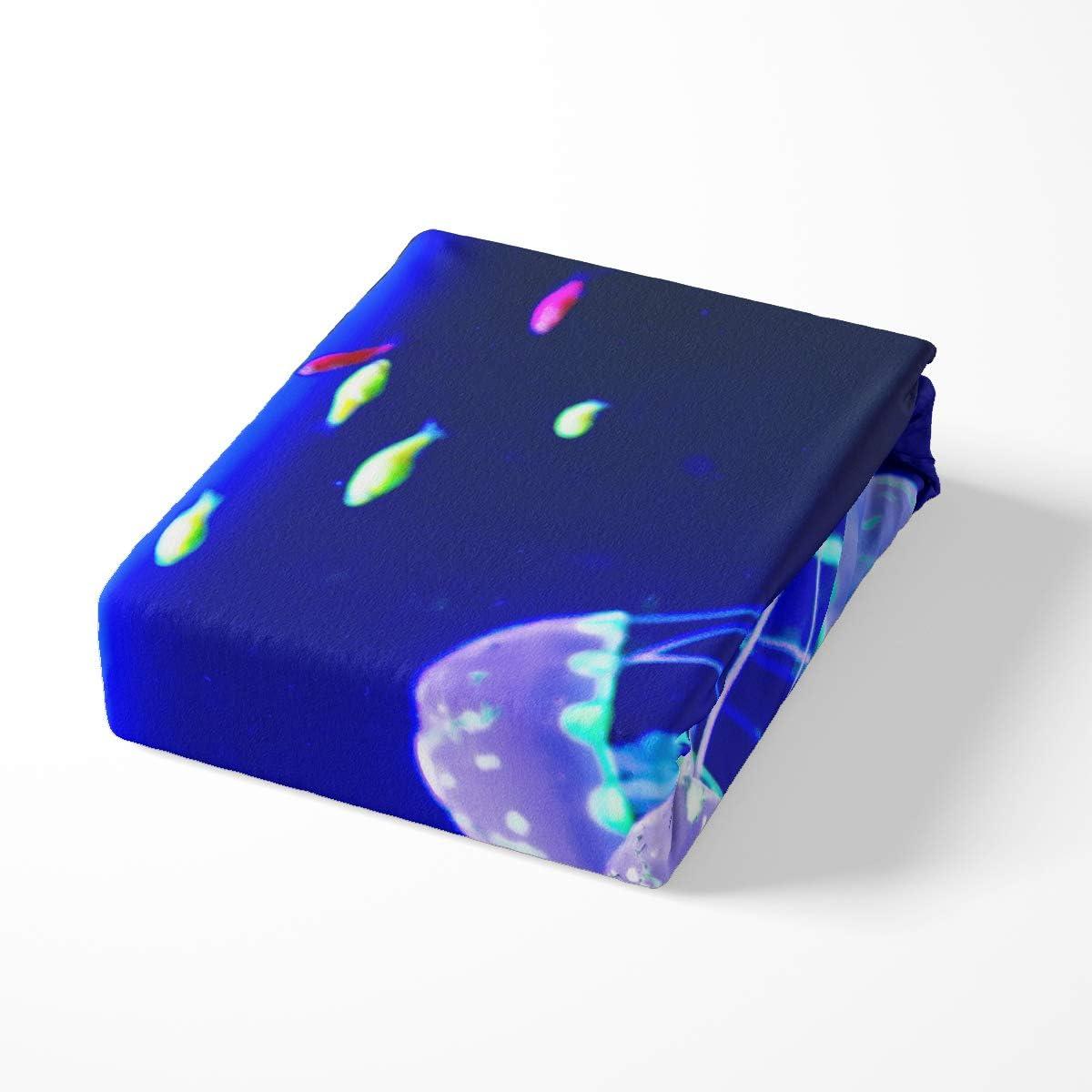 Erosebridal Music Note Duvet Cover Duvet Cover Twin Size Dream Theme Blue Comforter Cover Set for Teen Boys Kids Girls Geometric Stripe Pattern Bedding Set,1 Duvet Cover with 1 Pillow Case