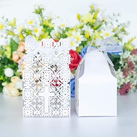 Unique white favors envelope Wedding guests gifts Baptism bombonieres Handmade christening shantung Baby shower favors idea Koufeta filled