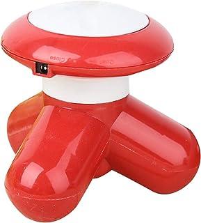 Laoonl - Masajeador eléctrico USB con tres piernas con vibración pequeña, para la espalda, el cuello, los brazos, las piernas y el masaje completo del cuerpo