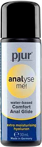 pjur analyse me! Comfort Water Anal Glide - Lubricante acuoso - para sexo anal cómodo - adecuado para juguetes erótic...