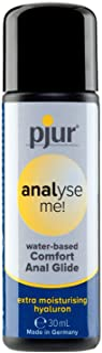 pjur analysera me! Comfort Water Anal Glide – vattenbaserat glidmedel – för bekväm analtrafik – lämplig för sexleksaker – ...
