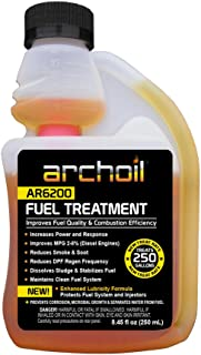 Archoil AR6200 (8oz) Fuel Treatment - Treats 250 Gallons - Diesel Additive / Fuel Additive