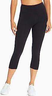 Bally Total Fitness Womens Tummy Control Capri Legging