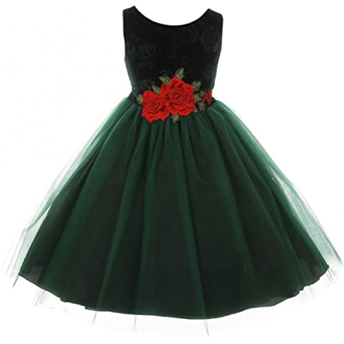 d032b7285992 Green Christmas Dress  Amazon.com