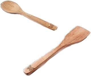 The Pioneer Woman Cowboy Rustic Acacia Wood Spoon & Turner Set