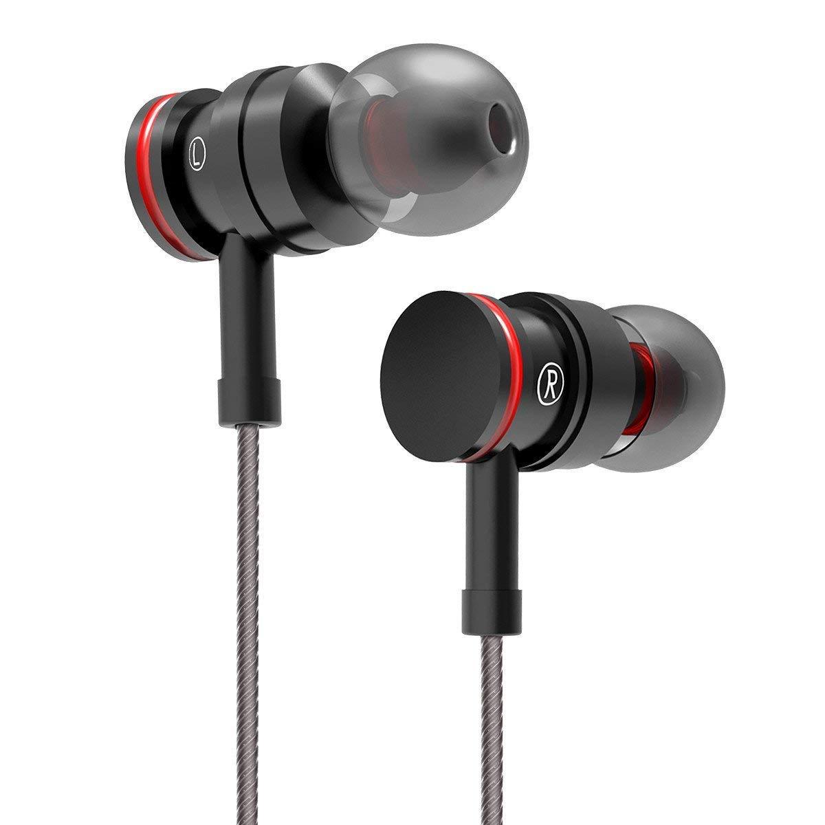 Earphones Earbuds Headphones Microphone Control