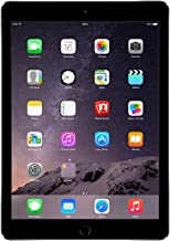 New Apple MGL12LL/A iPad Air 2 Gray 9.7-Inch Retina Display, 16GB, Wi-Fi (Renewed)