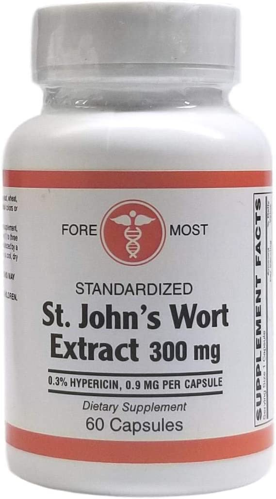 ST. John's Wort Don't miss the campaign All stores are sold 60 Extract Capsules