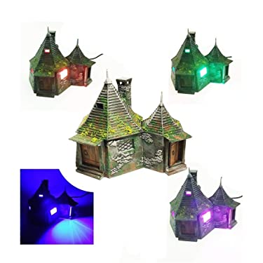 Keene/Fx Hagrids Hut Nightlight with Multicolor LED and Remote
