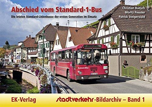 Abschied vom Standard-1-Bus: Die letzten Standard-Linienbusse der ersten Generation im Einsatz (Stadtverkehr-Bildarchiv)