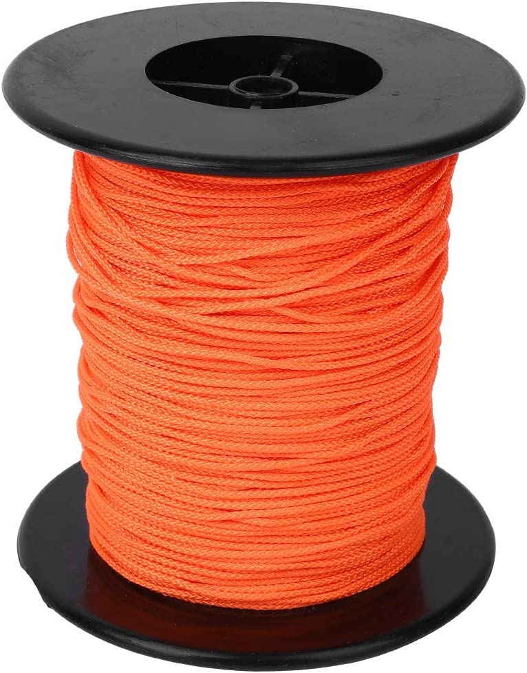 Diving Spool Orange Portable Handle New popularity Line Lightweig Nylon Manufacturer regenerated product