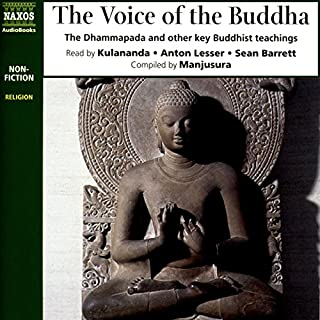 The Voice of the Buddha audiobook cover art