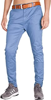 I.TALYMORN Men's Chino Outdoor Flat Front Casual Pants 34 Light Sky Blue