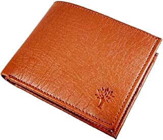 WOOD_LAND Men's Brown Wallet for Professional Use