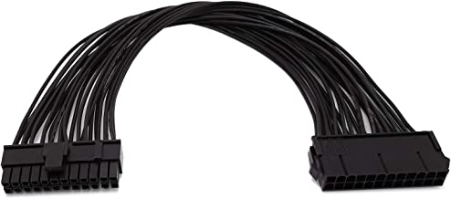 ATX 24 Pin Motherboard Extension Power Cable, 12.6 inch