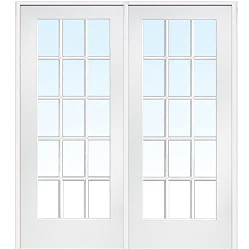 Prehung Interior French Doors Amazon Com