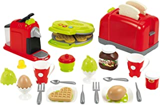 Jouets Ecoiffier – 2647 - Coffret toaster grand modèle + petit déjeuner pour enfants- 33 pièces – Dès 18 mois – Fabriqué ...