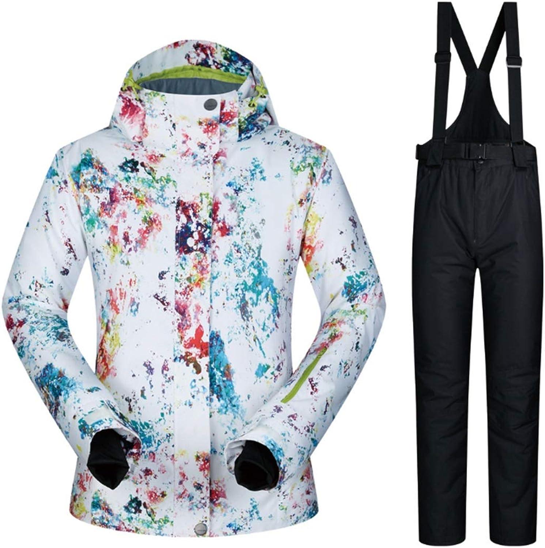CEFULTY Women's Mountain Waterproof Ski Jacket for Rain Snow Outdoor Hiking