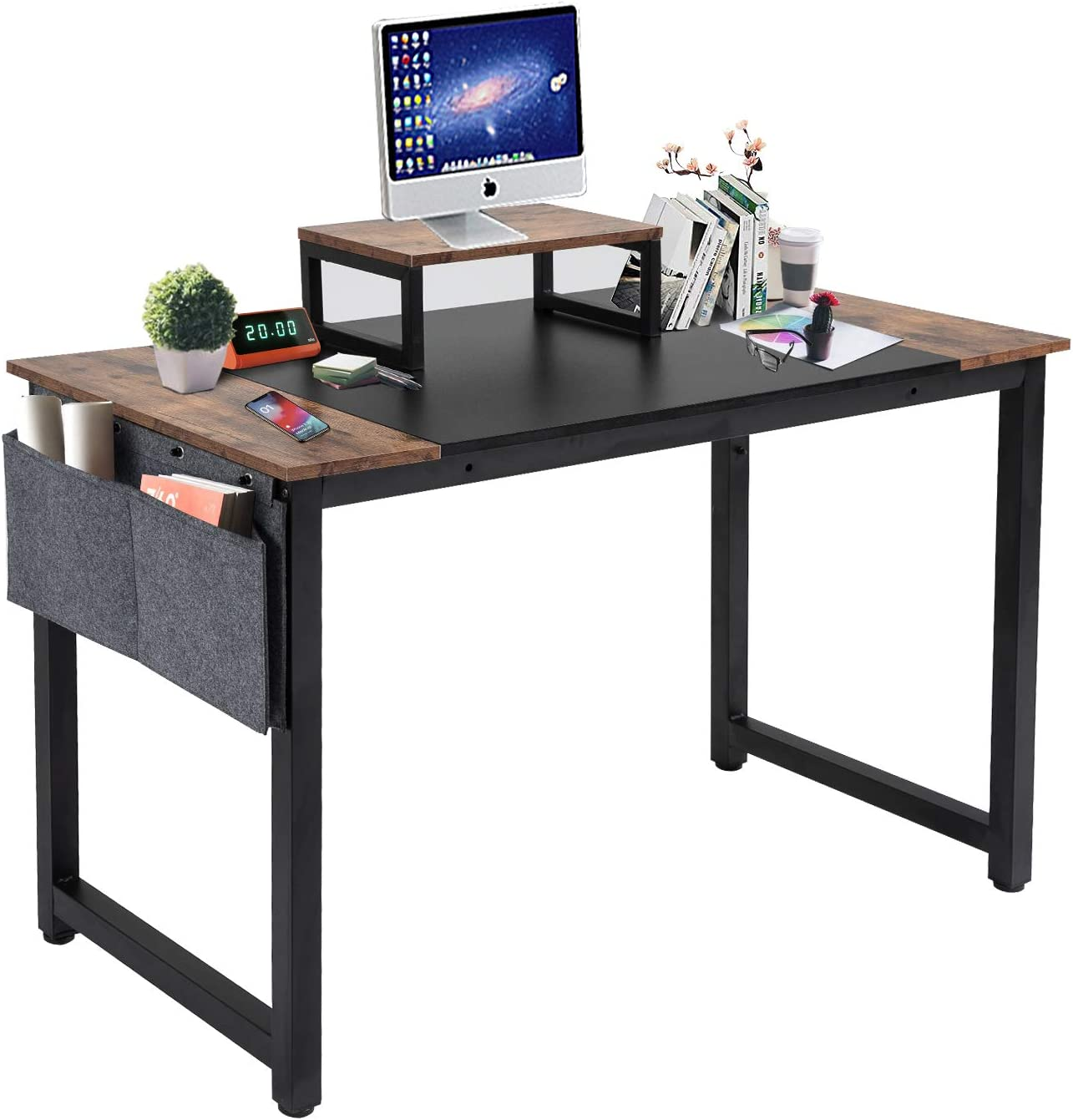 Time sale YAMASORO Computer Office Small Desk Max 58% OFF Table 47