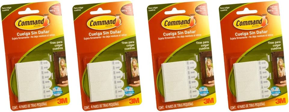 Command Small Picture Hanging Strips Free shipping on posting reviews 4 Strip Ranking TOP7 White Pack