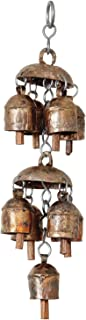 Daddy Shoppe Handmade Vintage Style Hanging Chandelier Feng Shui Wind Chimes Bell for Outdoors Indoor & Garden Decor