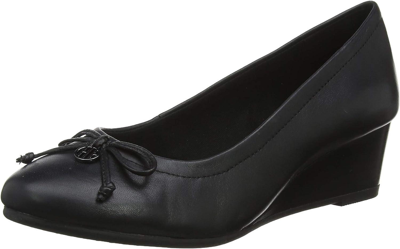 Hush Puppies Womens Ladies Morkie Charm Wedge shoes