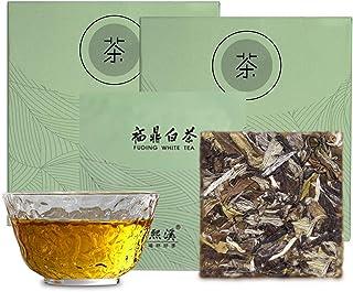 熙溪 福鼎白茶 白牡丹 白茶50g(計10枚)中国茶 茶葉 天然天日干し工芸 有機茶 ノンカフェイン 無添加